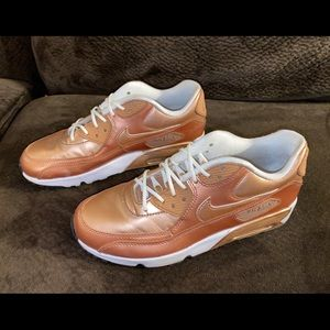 Rose Gold Nike Air Max 8 Women's